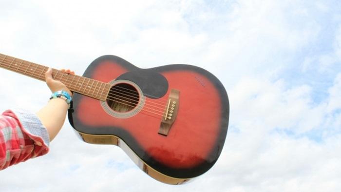 メルカリのギターの梱包